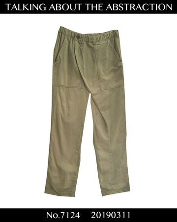 TALKING ABOUT THE ABSTRACTION / Military Wrap Easy Pant