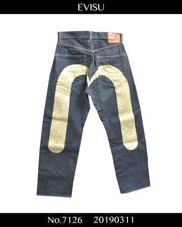 EVISU / Signature Print Denim Pants