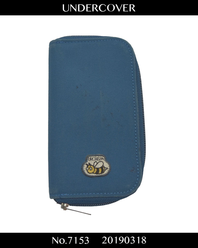 UNDERCOVER / Bee Logo Blue Long Wallet