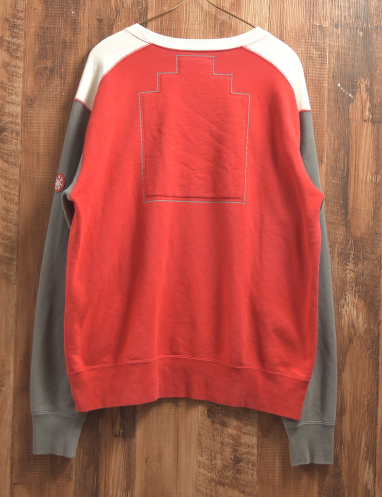 cav empt / Multi Color Crewneck Sweat Shirt