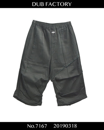 DUB FACTORY / Cutoff Cropped Short Pants