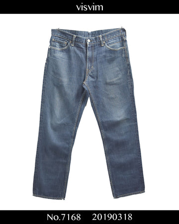 visvim / Indigo Selvage Denim Pants