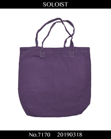 SOLOIST / Soloist Shop Purple Bag