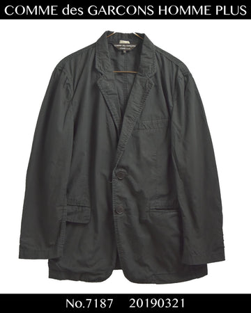 COMME des GARCONS HOMME PLUS / Big Button Tailored Jacket