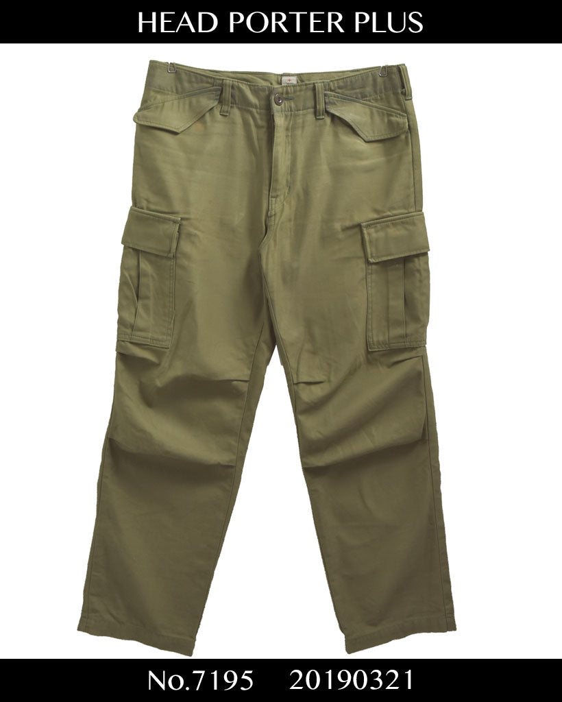 HEAD PORTER PLUS / Military Cargo Pants