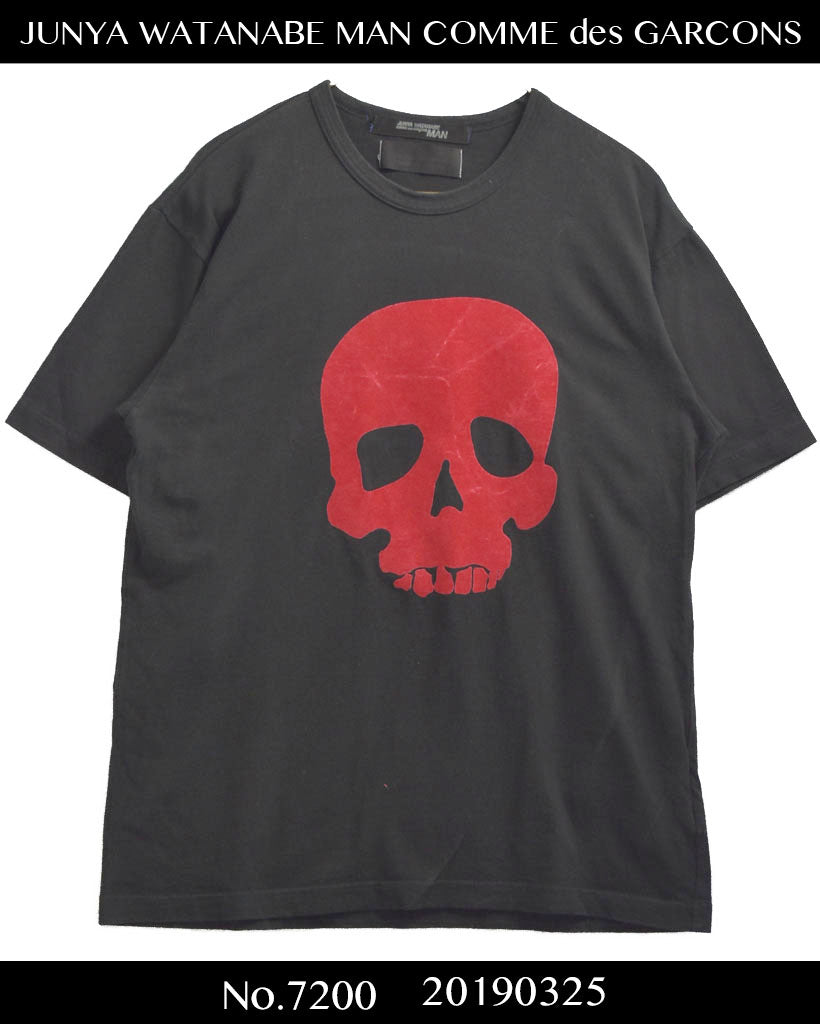 JUNYA WATANABE MAN COMME des GARCONS / Limited Scull Print Cutsew
