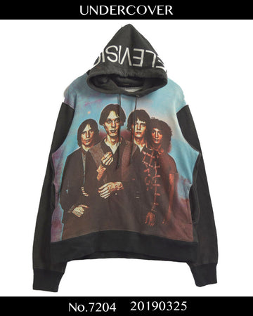 UNDERCOVER / Television Artwork Print Hoodie