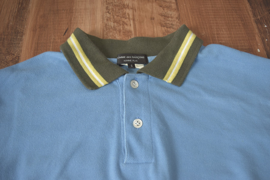 COMME des GARCONS HOMME PLUS / Sporty Long Sleeve Polo Shirt