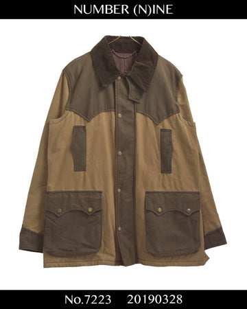 NUMBER(N)INE / 《Nowhereman》  Oiled Hunteing Jacket Coat