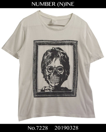 NUMBER(N)INE / John Lennon Scull Graphic Cutsew