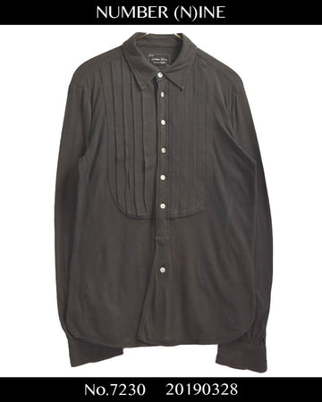 NUMBER(N)INE / Pleats Dress Shirt
