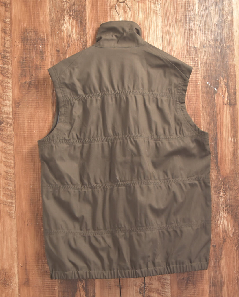 NUMBER(N)INE / Draw code Zip-up Vest