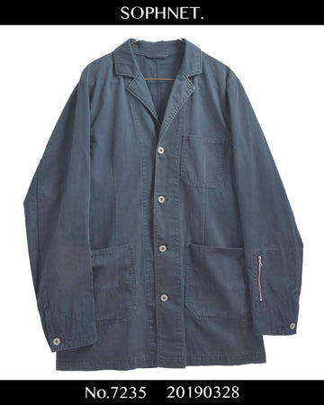 SOPHNET. / Coverall Zip Jacket