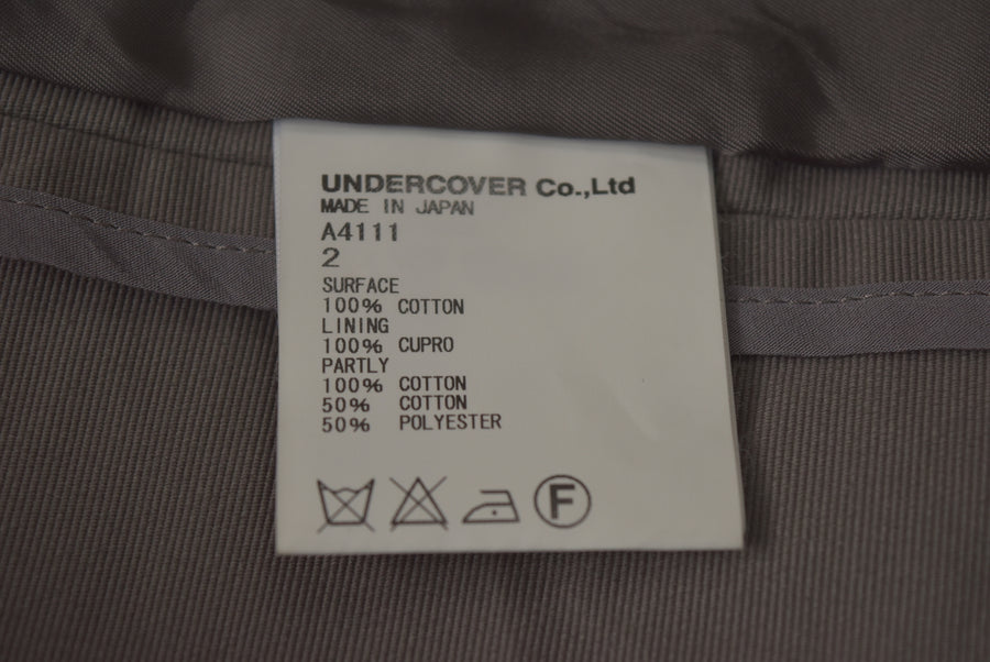 UNDERCOVER / Hybrid Hoodie Tailored Jacket
