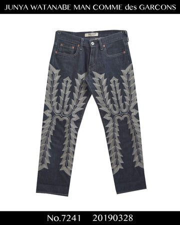 JUNYA WATANABE MAN COMME des GARCONS / Embroidary Denim Pants