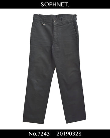 SOPHNET. / Black Chino Pants