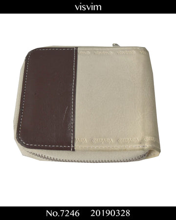 visvim / Bicolor Leather Wallet