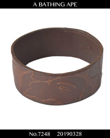NUMBER(N)INE / APE Camo Leather Bracelet