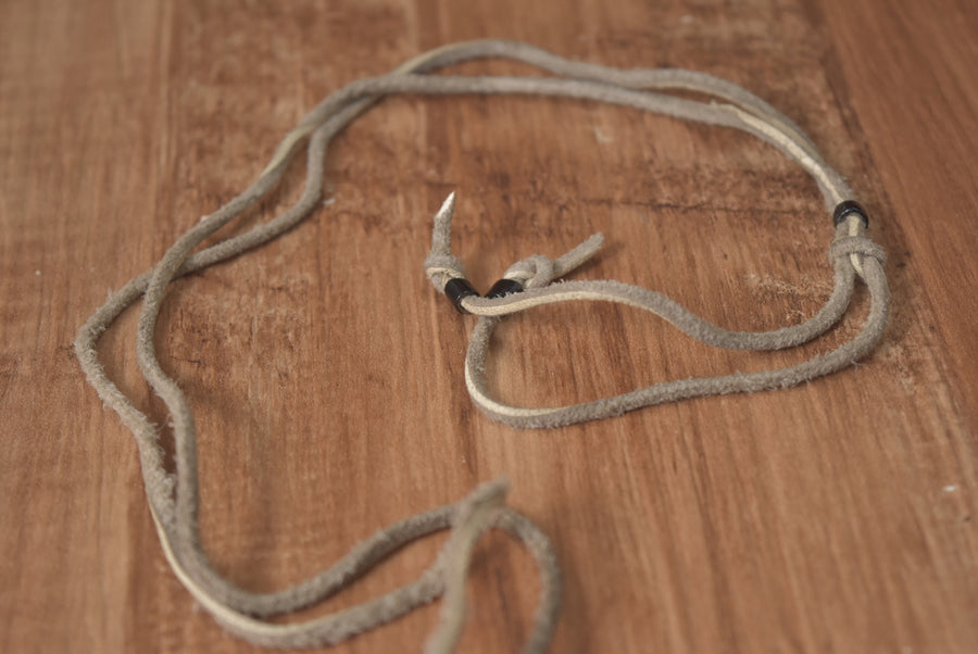 UNDERCOVER / Silver Padlock Necklace