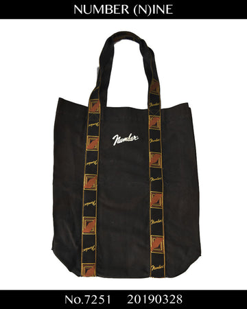 NUMBER(N)INE / Fender Motif Tote Bag