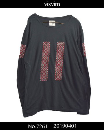 visvim / Embroidary Long Sleeve Cutsew