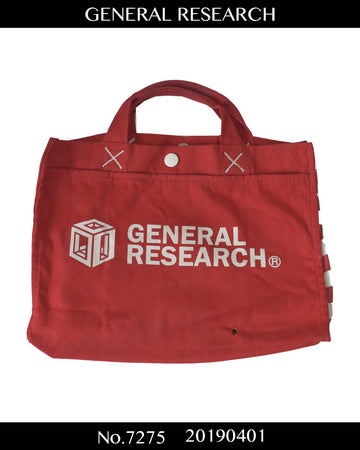 GENERAL RESEARCH / Logo Tote Bag