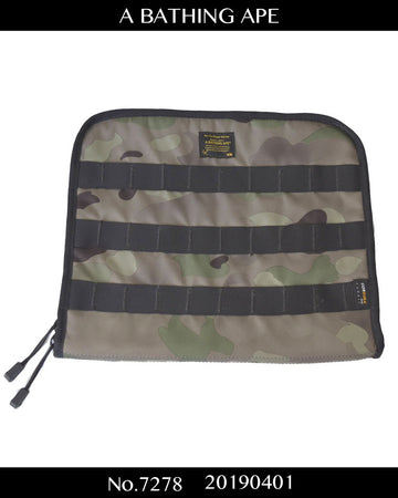 BAPE / Military Camo PC Bag