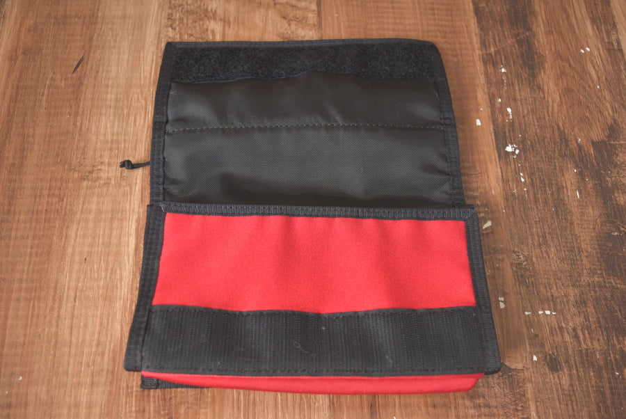 PORTER / Red Passport Case / 7282 - 0401 53