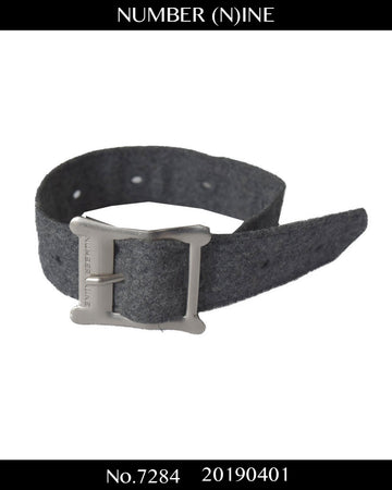 NUMBERNINE / Wool Belt Bracelet / 7284 - 0401 42