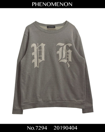 PHENOMENON / Font Logo Sweat Shirt / 7294 - 0404 59.721