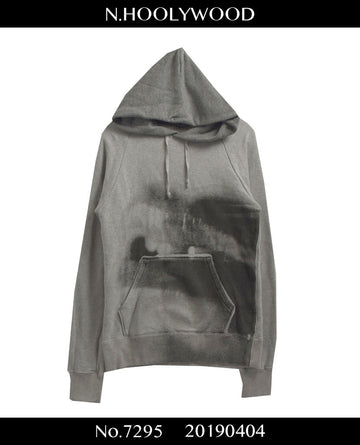 N.hoolywood / Spray Graffiti Sweat Hoodie / 7295 - 0404 47.5