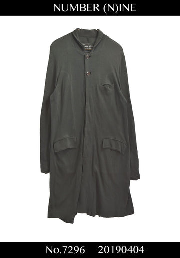 NUMBERNINE / Cutsew Long Jacket Coat / 7296 - 0404 91.5
