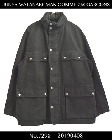 JUNYA WATANABE MAN COMME des GARCONS / M-65 Military Work Hybrid Jacket Coat / 7298 - 0404 157.5