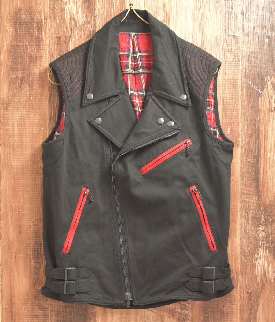 NUMBERNINE / 《Night Crawler》 Emily Riders Vest  / 7303 - 0404 108.506