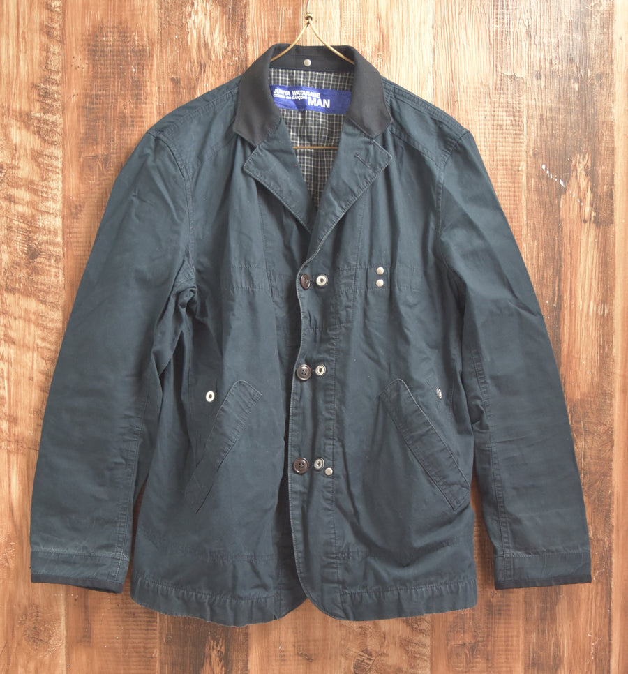 JUNYA WATANABE MAN COMME des GARCONS / × HERVIER SEIL MARS CHALL PRODUCTION Reversible  Transform Work Jacket / 7305 - 0404 104.15