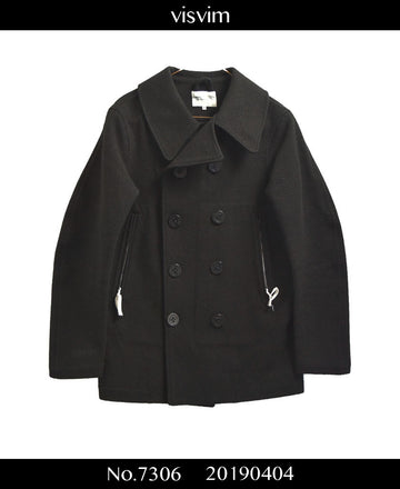 visvim / Wool Gore-tex Pea Coat / 7306 - 0404 144.3