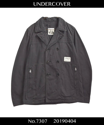 UNDERCOVER / 《UNDER MAN》 Zip P-coat Jacket / 7307 - 0404 121.2