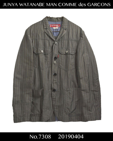 JUNYA WATANABE MAN COMME des GARCONS / × Levi's Strype Docking Trucker Tailored Jacket / 7308 - 0404 102.72