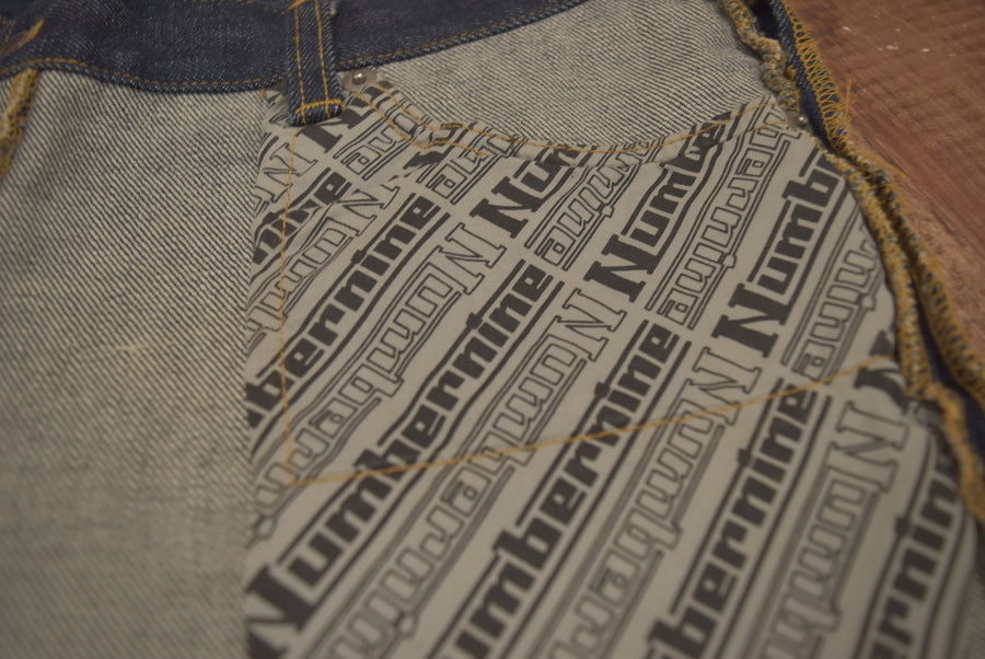 NUMBERNINE / 《Heavy Mechanic》 Inside Outside Jeans / 7321 - 0408 52.89