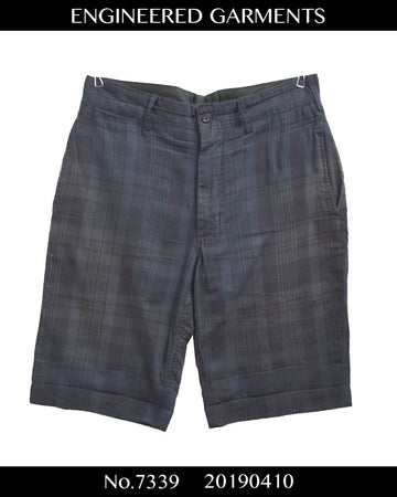 engineered garments / Black Watch Short Pants / 7339 - 0410 64