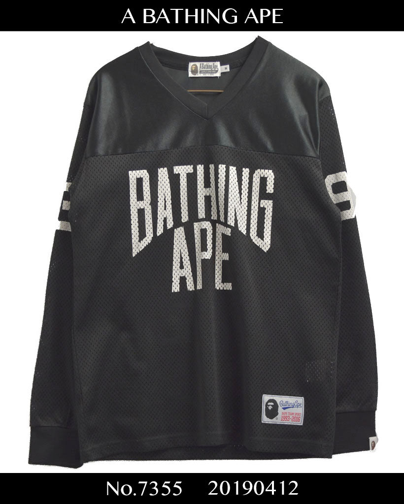 BAPE / Mesh Football Cutsew / 7355 - 0412 64
