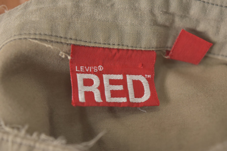Levi's RED / No Collar Western Shirt / 7358 - 0412 47.