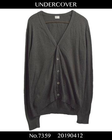 UNDERCOVER / 《UNDER MAN》 Cardigan Knit Sweater / 7359 - 0412 75