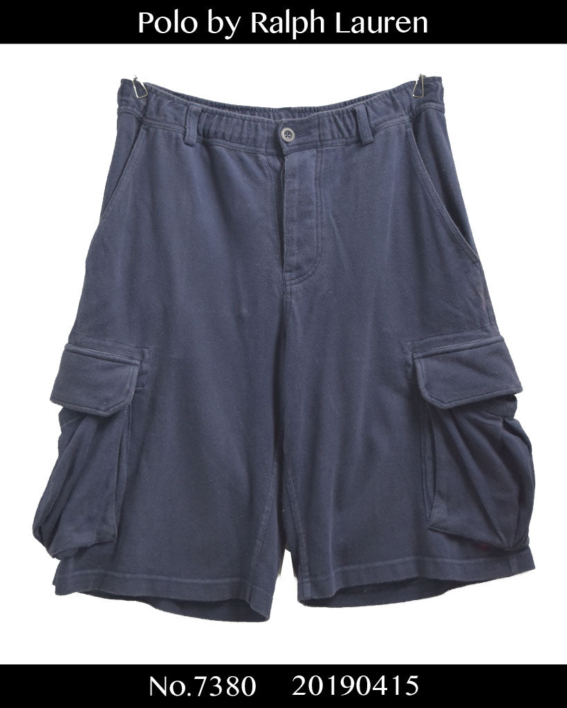 Polo Ralph Louren / Sweat Cargo Short Pants / 7380 - 0415 42