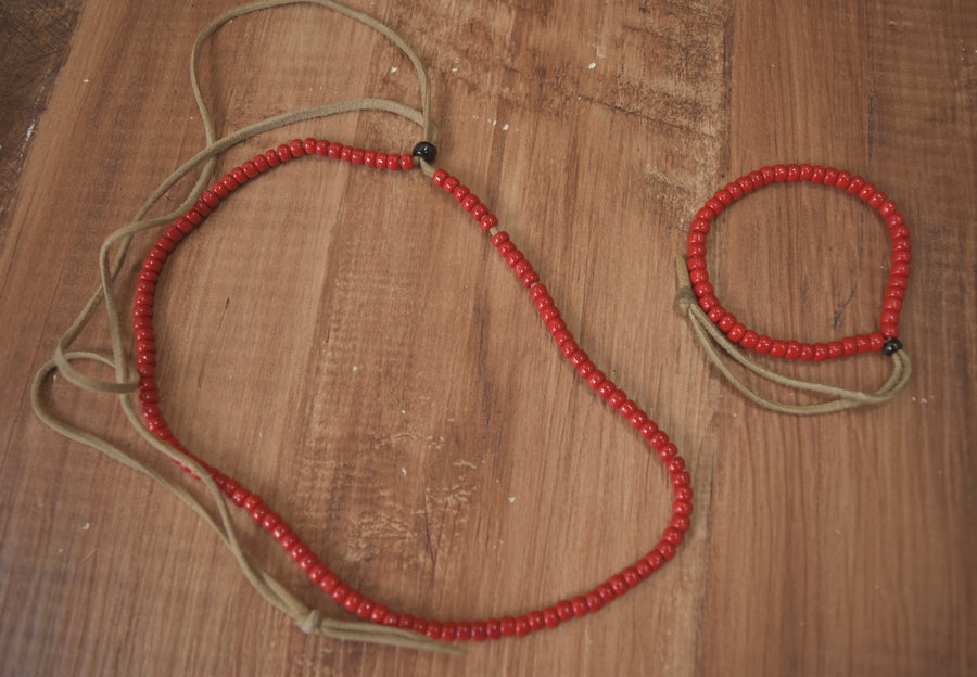 NUMBERNINE / 《 The High Streets 》 × Bingo Brothers Beads Necklace & Bracelet / 7385 - 0415 58.5