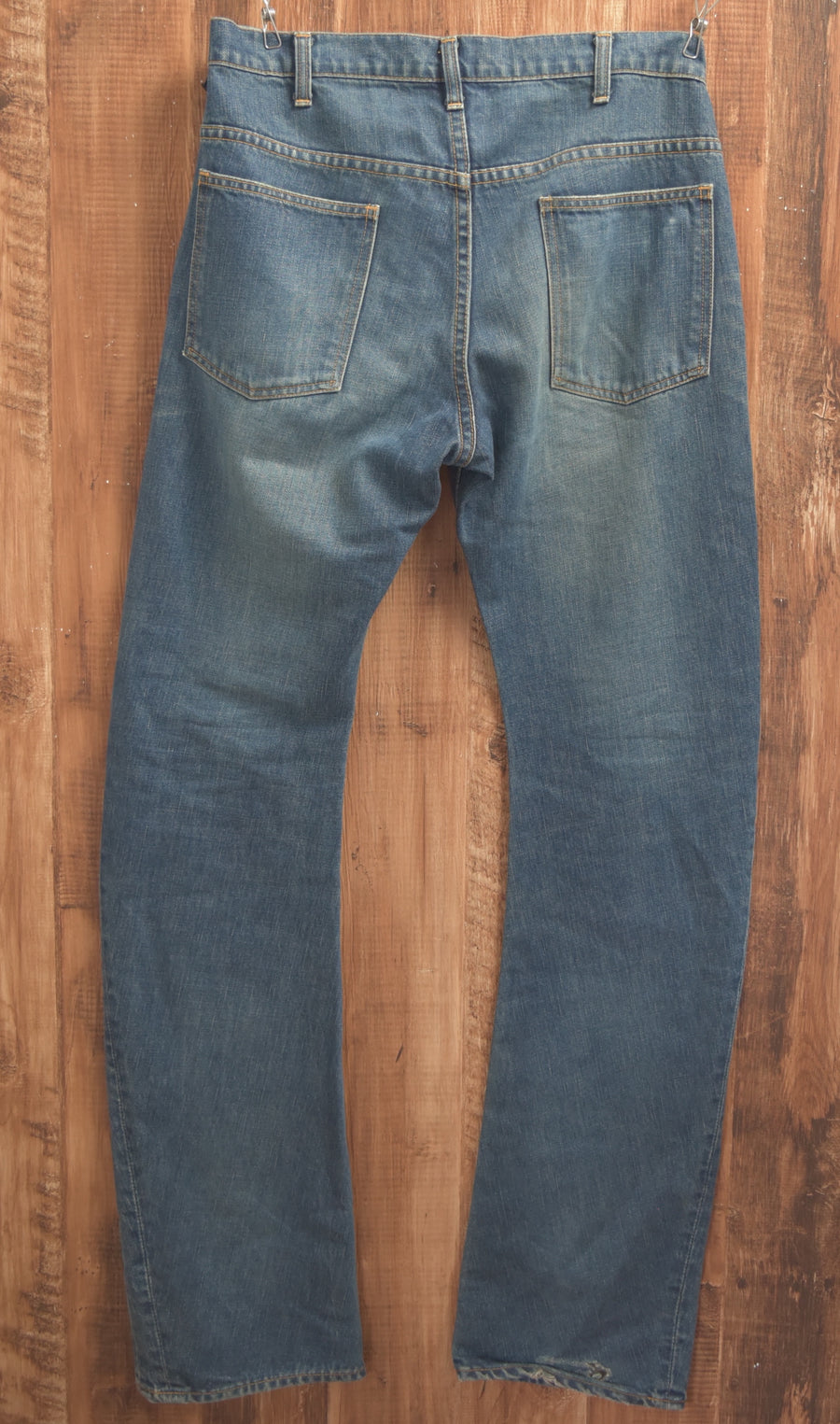 WJK / Indigo Banana Denim Pants / 7390 - 0415 36.5
