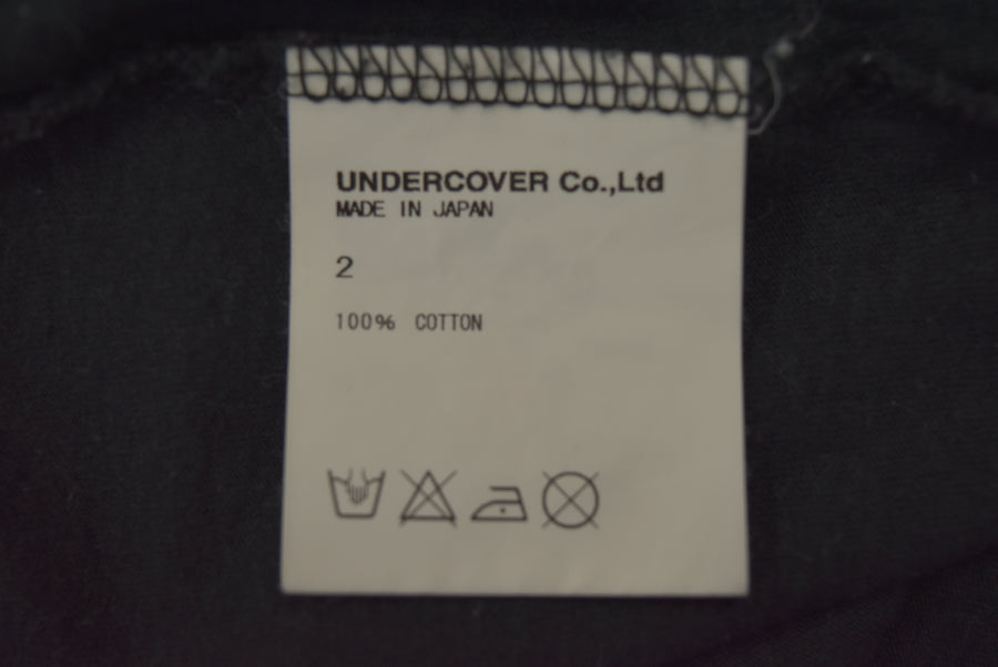 UNDERCOVER / Skull Flower Graphic Cutsew / 7398 - 0415 62.46