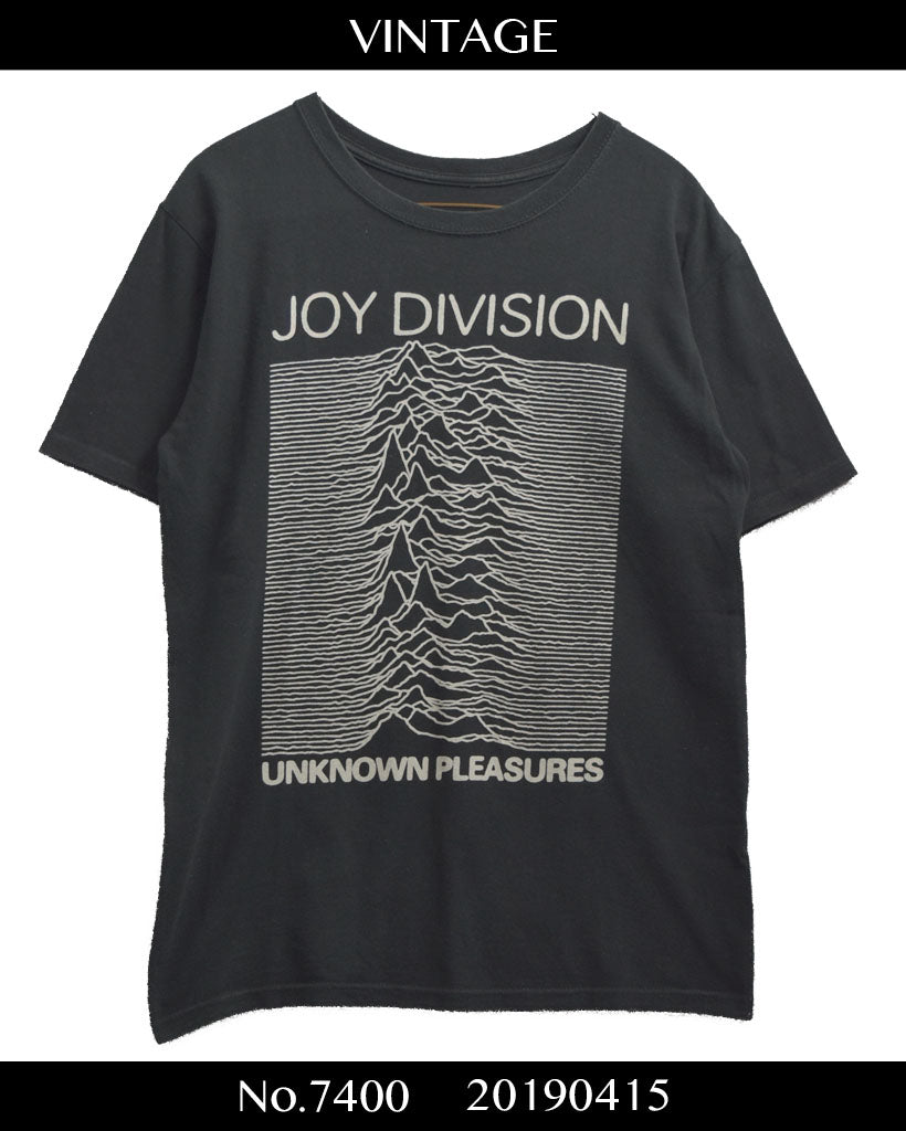 vintage / JOY DIVISION Signature Graphic Cutsew / 7400 - 0415 42