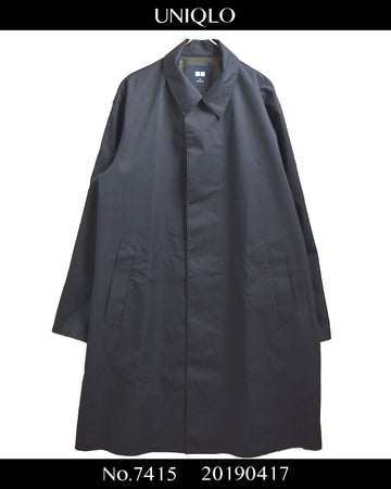 UNIQLO / Block Tech Jacket Coat / 7415 - 0417 58.5