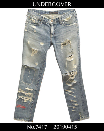 UNDERCOVER / 68 Damage Denim Pants / 7417 - 0417 168.489